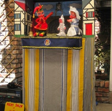 Tom Herbert's Punch & Judy show from the Wirral